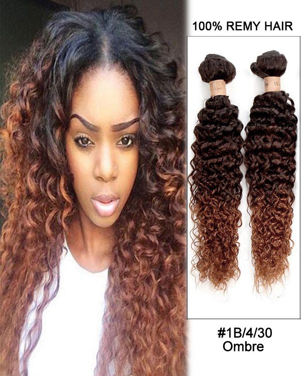 36 best feshfen ombre hair images on pinterest ombre hair hair 24 black auburn ombre kinky curly brazilian remy hair weave weft human hair extensions pmusecretfo Image collections