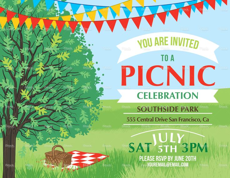 8 best Picnic Ideas images on Pinterest Breakfast, Girls and Honey - picnic invitation template