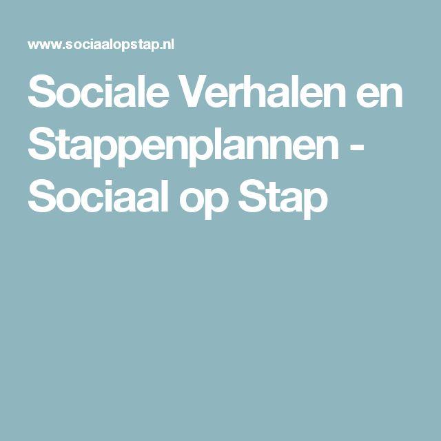 Sociale Verhalen en Stappenplannen - Sociaal op Stap
