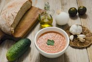 Make Authentic Gazpacho