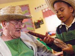 Senior Citizens Help Young Children with Reading -- and Relationships