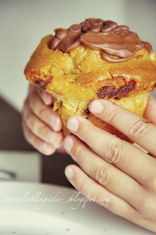 Milka Muffins http://lieblingsidee.blogspot.de/2012/10/waldspaziergang.html