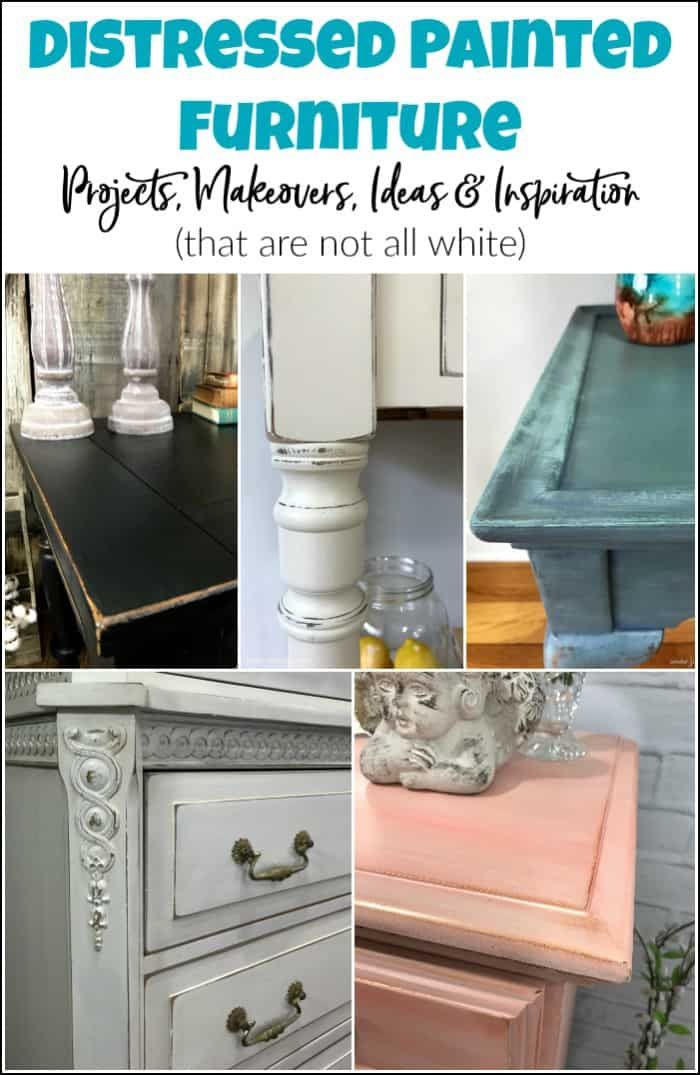 Distressed Painted Furniture Projects Makeovers Ideas
