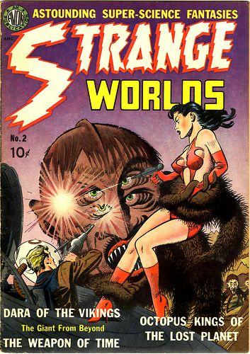 1951 ..  strange worlds.and monster of 51
