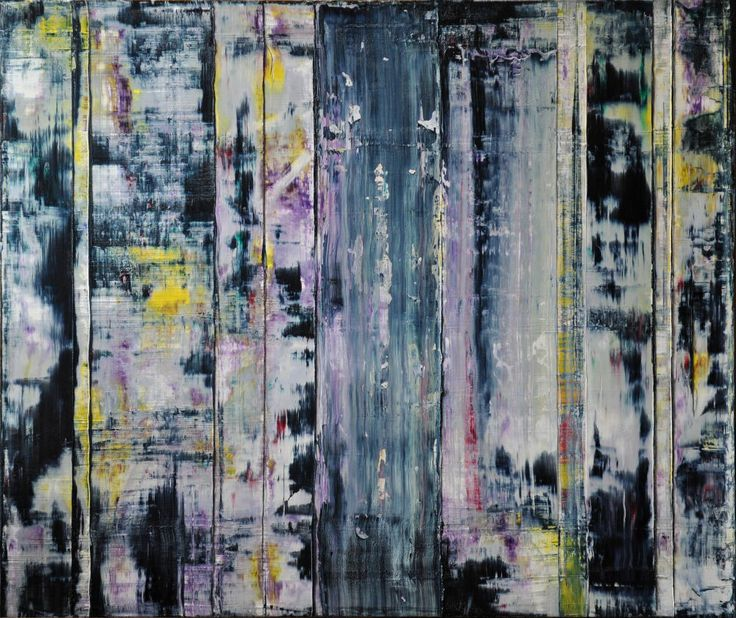 Abstract painting by Jakob Weissberg, 2013, oil on canvas, 100x120cm