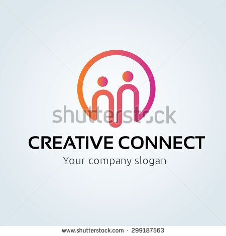 Creative Connect, People logo,family logo,insurance logo,community logo,social logo,vector logo template