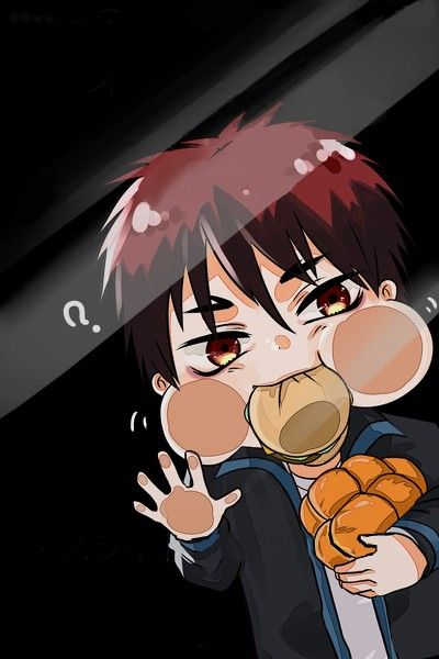 Hahah. Kagami eats a bit too much.