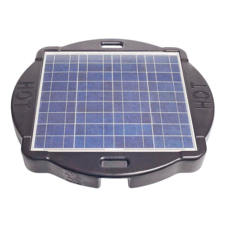Savior 10,000 Gallon Pool or Spa 60-watt Solar Pump and Filter System Solar Pool Cleaner