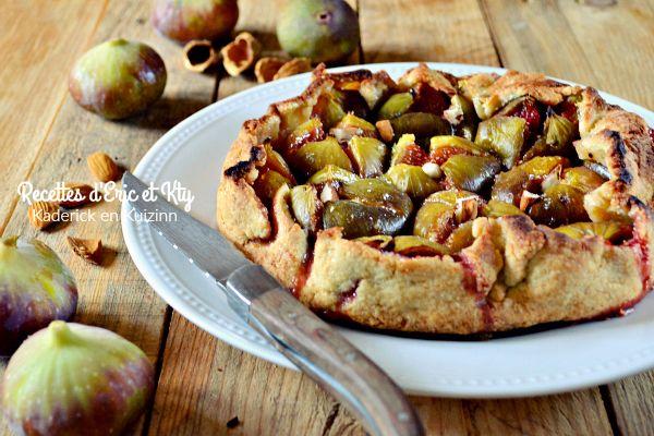 Figues - Tarte à l'ancienne aux figues et amandes pour Cuisine à thème sur…