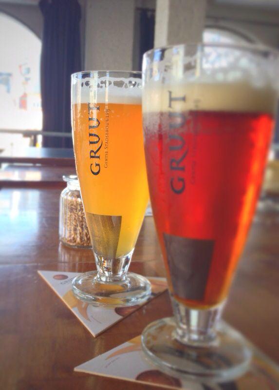 gruut, blond and amber @ gentse stadsbrouwerji, ghent, belgium
