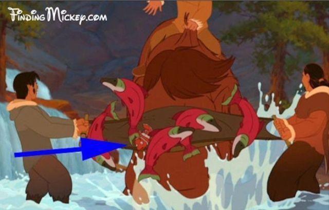 FRÈRE DES OURS Vous reconnaissez ce petit poisson parmi les saumons ? Il s'agit effectivement de ce cher Nemo !