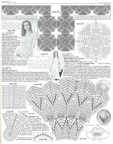 crochet pineapple motif 1