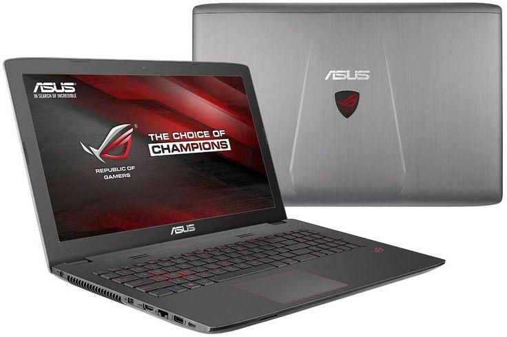 "ASUS ROG GL552VW-DH71 Gaming Notebook (i7-6700HQ, 32GB RAM, 1TB SSD + 1TB HDD, NVIDIA GTX 960M 2GB, 15.6"" IPS Full HD, Windows 10)"