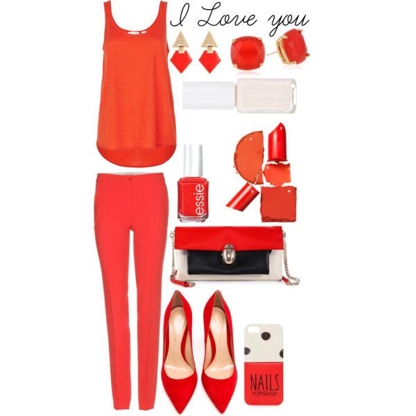 """Valentines red"" by jaeliene on Polyvore"