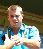 David Warner,Australian cricket team's opening batsman has injured a thumb during a practice session.  full story at http://gamerzandwwe.blogspot.com/2013/01/david-warner-injures-thumb-during.html