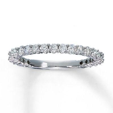 531586600 - Diamond Anniversary Ring 3/4 ct tw Round-Cut 14K White Gold