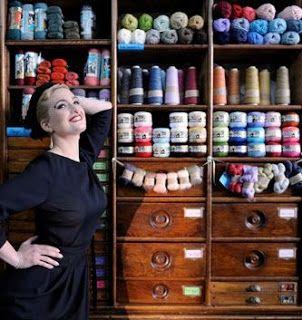 More yarn stores in Paris - Le Comptoir stocks Habu