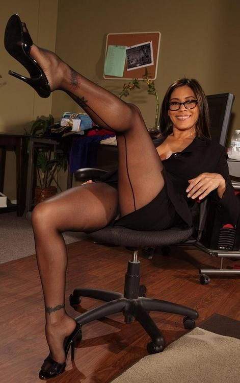 sexy nerds in pantyhose