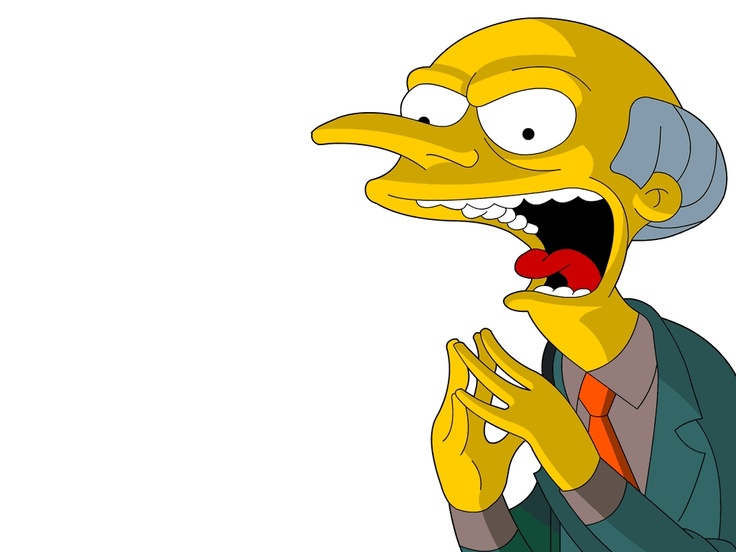 Montgomery burns - The Simpsons