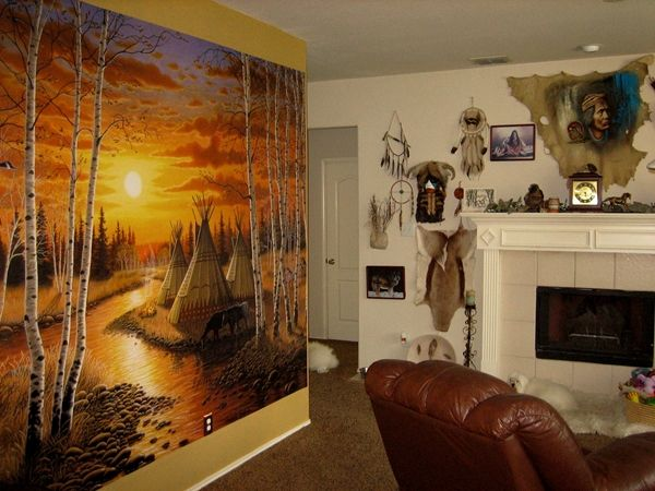Love For The Native Americans By Frank A From Flower Mound, TX #decor #. Living  Room ...