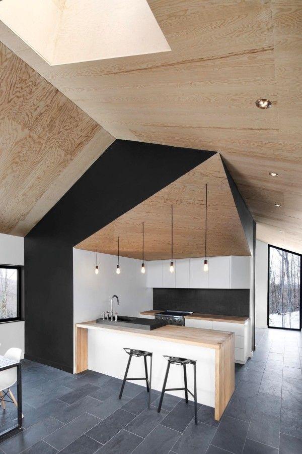 Black, White & Wood Kitchens: Ideas & Inspiration