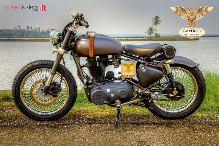 Retro and Modern fusion on Royal Enfield Custom Bike