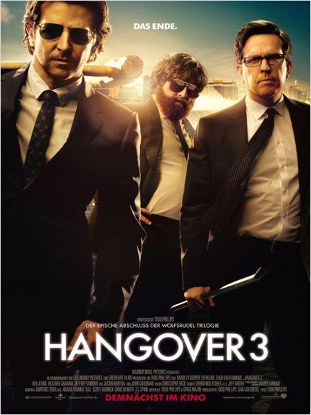 Hangover 3 : Kinoposter