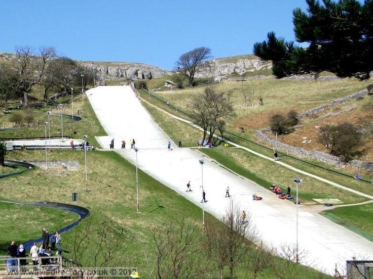 Enlarged Picture of Llandudno Ski Slope North Wales