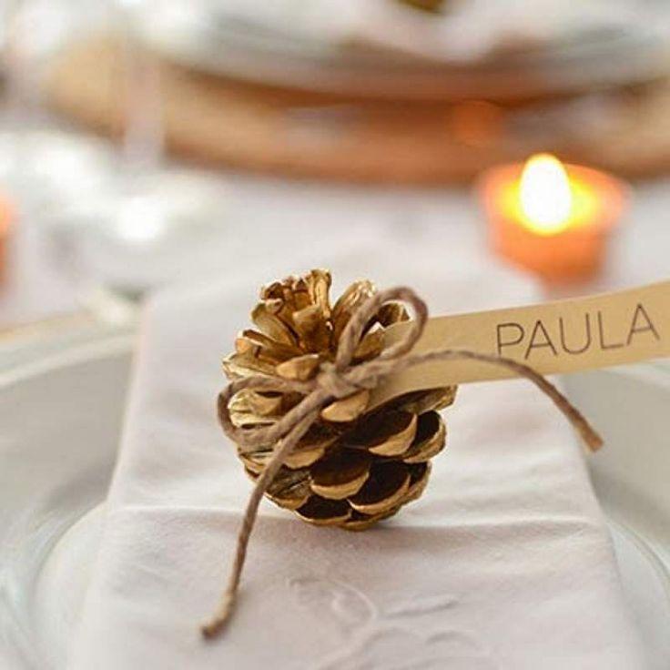 17 mejores ideas sobre tarjetas de comensales de navidad for Como poner una mesa bonita