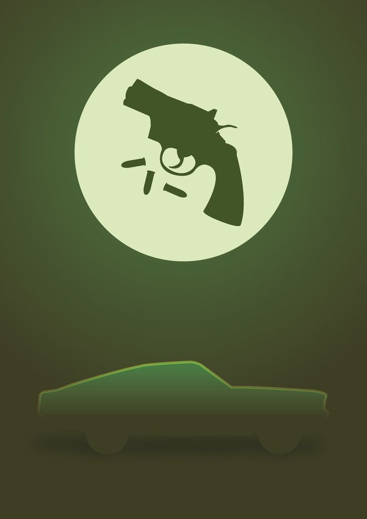 Mustang From The Movie Bullitt Poster Graphic Design