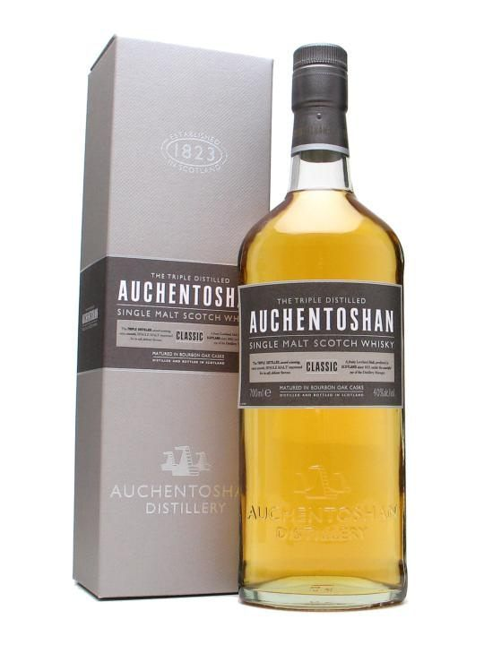 A no-age-statement Auchentoshan released in 2008, Classic is aimed at drawing in new drinkers to malt whisky, and has the easy-going drinkability to do the job. Not only that, but Auchentoshan Clas...