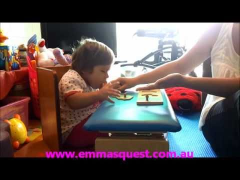 About Emma - daily challenges for a todder with quadriplegic cerebral palsy - YouTube