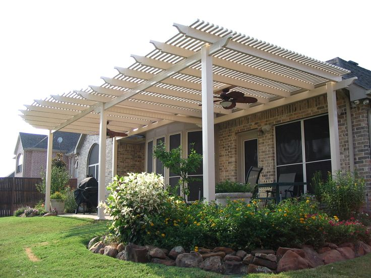 17 Best Images About Pergolas With Ceiling Fans On