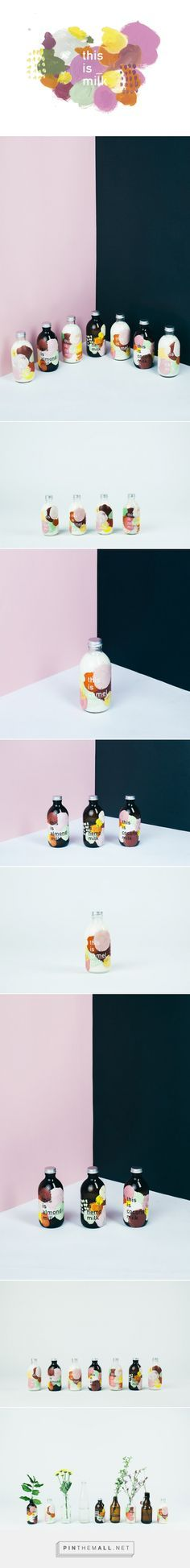 This Is _ Milk Packaging Concept Designed ByDaniellFaro    Http://www.packagingoftheworld