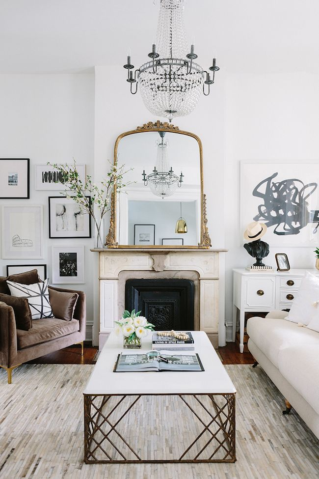 Take a tour of the Everygirl co-founder's Chicago greystone. Oozing with character and charm, it's design inspiration of the most beautiful variety.