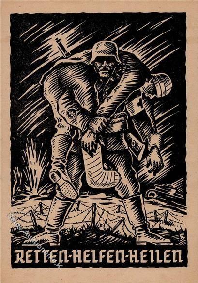 Stade-Auktionen - III. Reich Propaganda, Organisationen, WHW