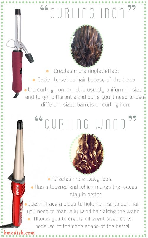 hair wand vs curling iron. which one is the right for you?