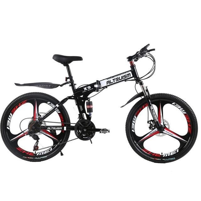 Pro Mountain Bike | 24 Speed | Dual Disc Brakes | 26 Inch