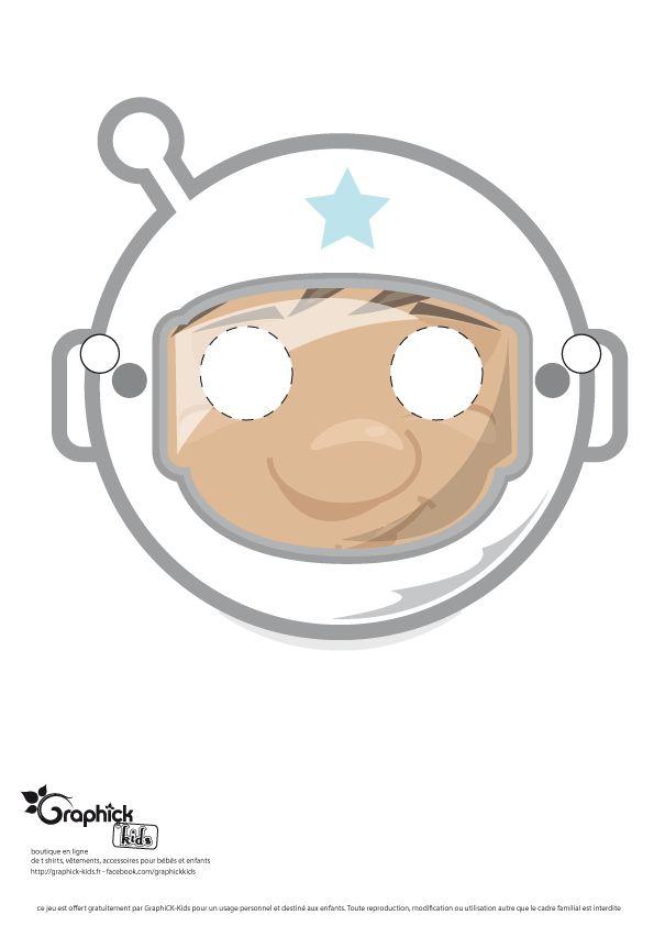 masque astronaute