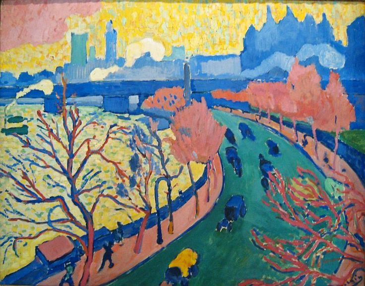 andre derain paintings | André Derain: Pont de Charing Cross, London , ca.1906