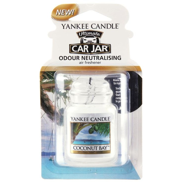 Yankee Candle Coconut Bay Car Jar Ultimate | Temptation Gifts