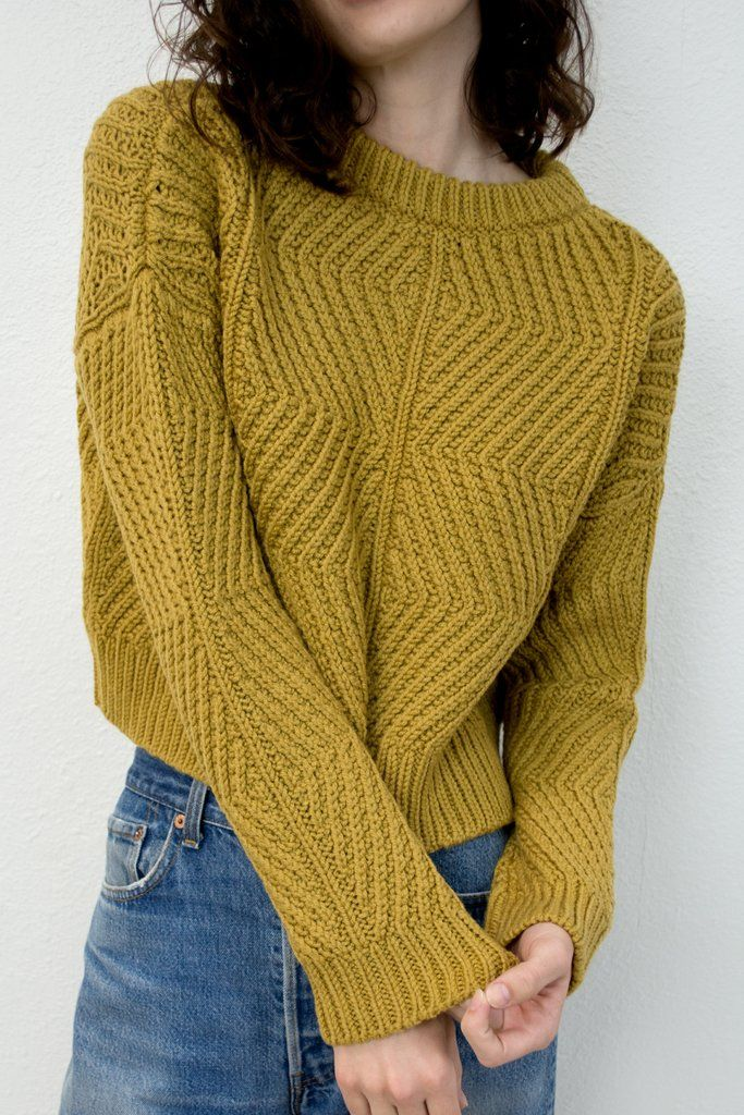 Ochre Bevel Sweater