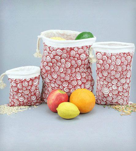 Organic Reusable Vegetable Bags