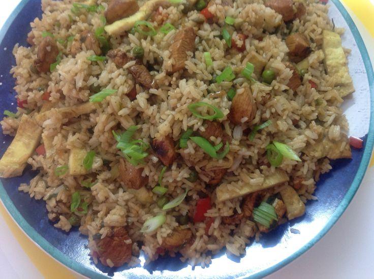 طريقة عمل الرز الصينى بالفراخ