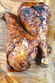 BBQ Turkey Legs - without soy sauce (allergic)