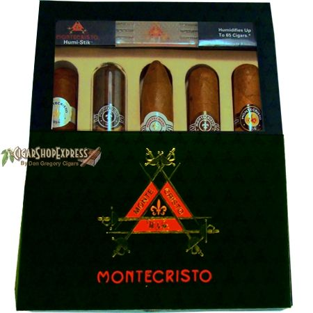 New $58.90 Online Cigar Deal: MONTECRISTO 2011 SPECIAL COLLECTION WITH 5 Cigars > added to our Online Cigar Shop https://cigarshopexpress.com/online-cigar-shop/cigars/cigars-gifts/montecristo-2011-special-collection-with-5-cigars/ The ultimate Montecristo Gift Pack with five great . Each box contains: Montecristo Red Toro Montecristo Classic Toro Montecristo Vintage Platuinum Robusto Montecristo White No. ...