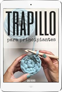 Aprende a tejer un bolso ovalado de trapillo Parte I | Santa Pazienzia