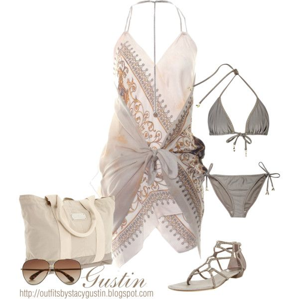 swim, created by stacy-gustin on Polyvore