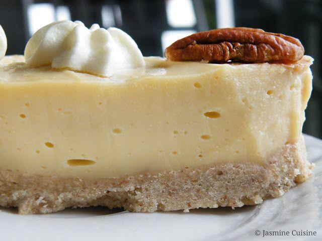Tarte à la crème au caramel écossais - Jasmine Cuisine