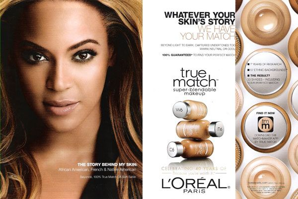 """Belinda Resendez Fall 2015 Section 1. """"Beyonce L'Oreal True Match"""" This ad created in 2011 has influenced many consumers to purchase L'Oreal for their makeup needs. This ad shows that L'Oreal is compatible with various skin types. http://www.celebrityendorsementads.com/celebrity-endorsements/celebrities/beyonce-knowles/"""